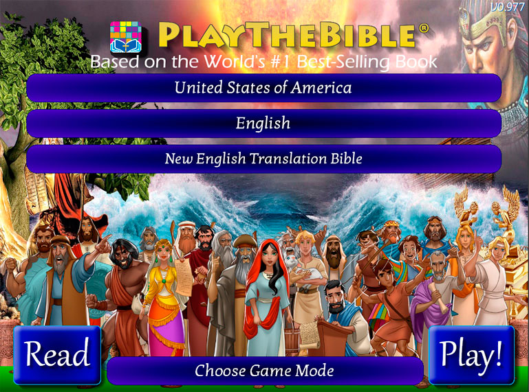 Why Play the Bible?